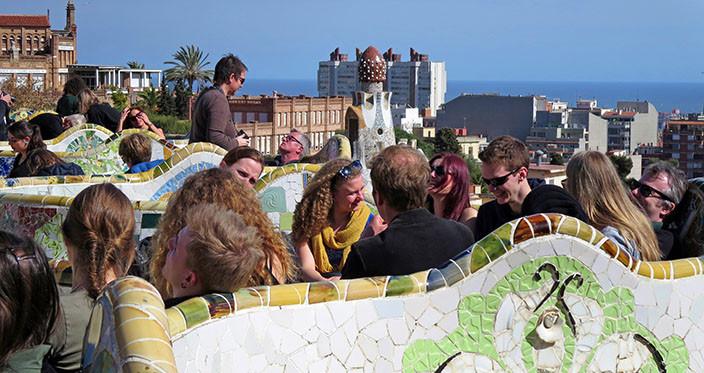 2i Study trip in Barcelona