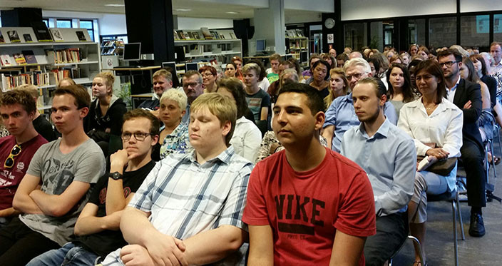 2i Information Evening 2015 - Students and their parents