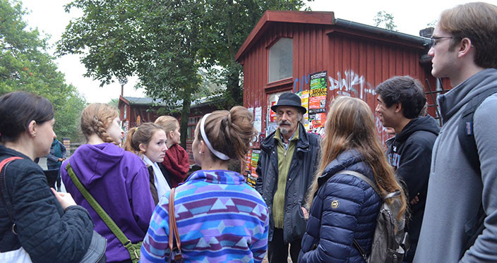Christiania guidet tour