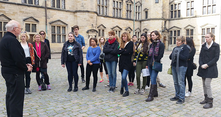 Kronborg Castle - group and guide