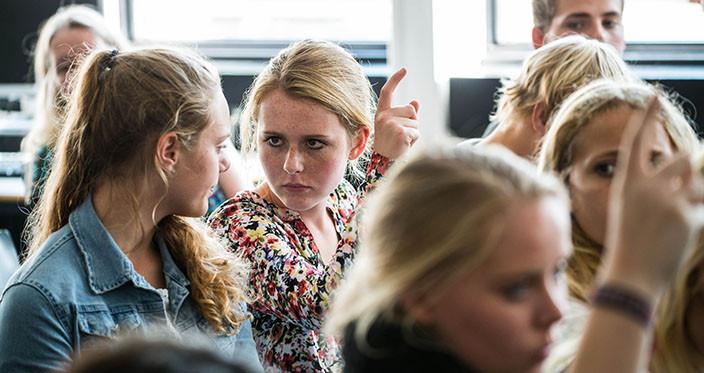 Nørre G's elever kommenterer ivrigt undervisningsministerens indlæg om gymnasiereformen