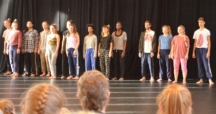 Moderne Dans på Nørre G 2014 - Chorus Line