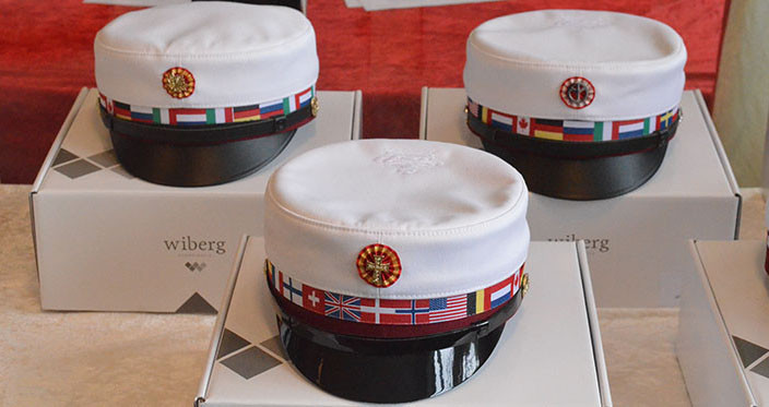 International hats for IB DP at Nørre G