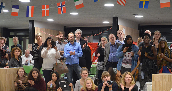 International Evening 2014 - Audience
