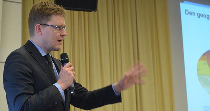 Klimaministeren taler 2014