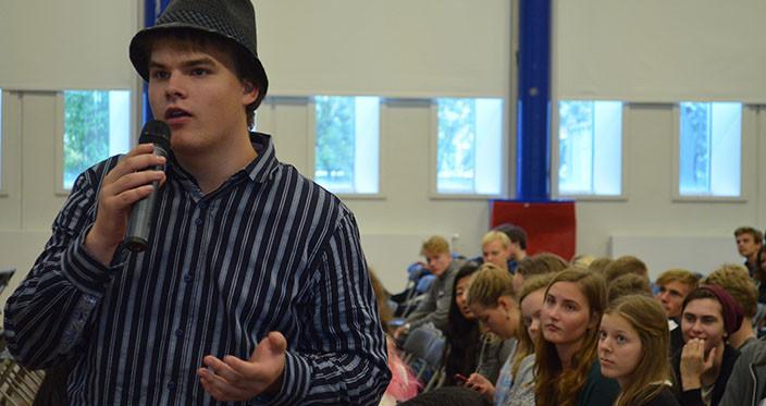 Elever sporger om klima 2014
