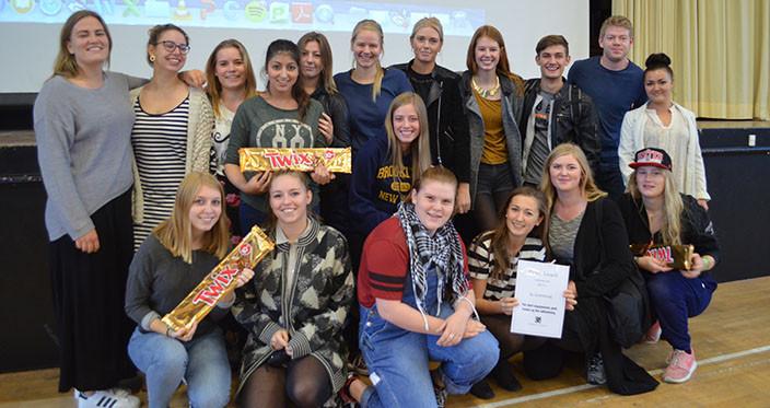 Idraetsdag 2014 - Team Award til 3u - Julestue
