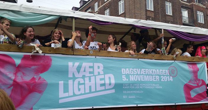 OD14 ved Pride i København