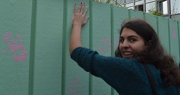 OD 2014 - Maling af muren