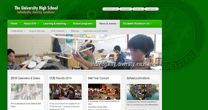 TheUniversityHighSchool_Website