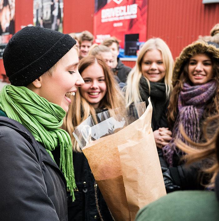 Noerre G besoegte Nordisk Film 2014
